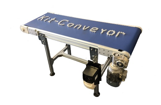 How to build a belt conveyor with Kit parts